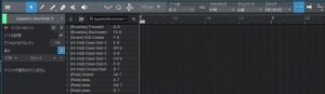 StudioOne4で使えるSuperiorDrummer3のドラムマップ